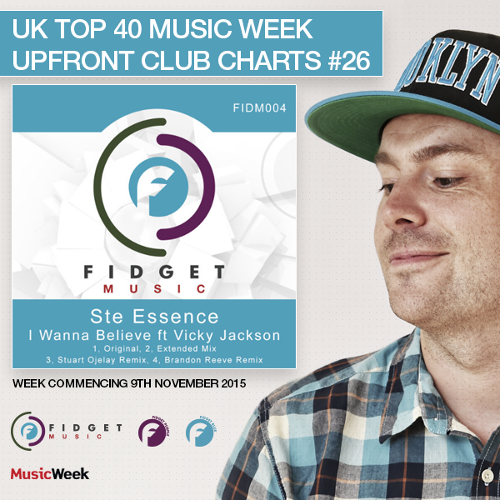 FIDM004 at #26 in Music Week Upfront Charts