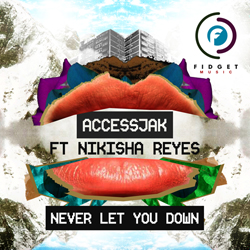 Cover art for AccessJak ft. Nikisha Reyes - Never Let You Down